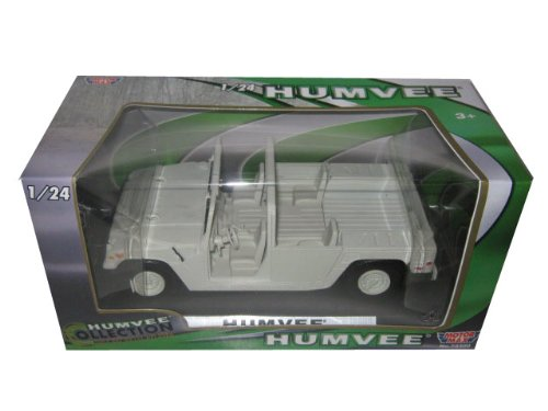 Humvee Military Base Platform 1/24 Diecast Car Model