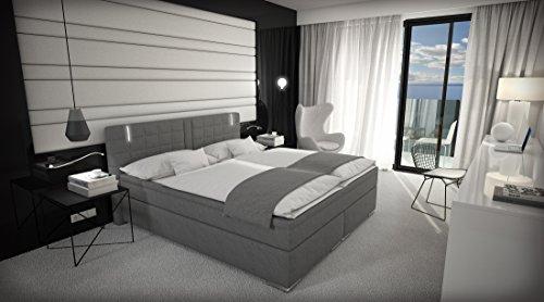 Boxspringbett-180x200-cm-Doppelbett-Hotelbett-inkl-LED