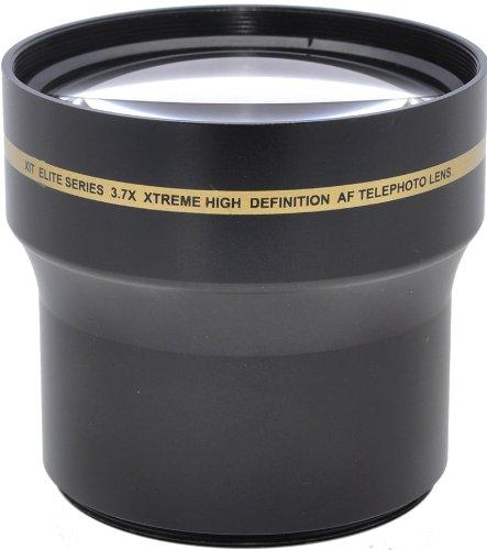 Xit Xt5837Xtl 52/58Mm 3.7X Telephoto Lens - Black
