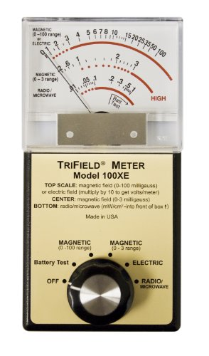 EMF Detector Electric Radio Field Strength Meter