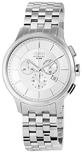 Esprit Cronógrafo Reloj de hombre, acero inoxidable, diámetro de 44mm-el101961F06