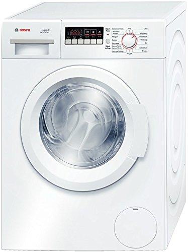 Bosch WAK28260FF machine à laver - machines à laver (Autonome, Charge avant, A+++, A, B, Blanc)