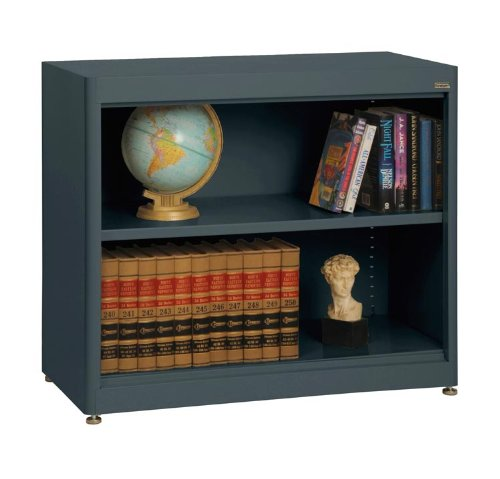 Sandusky Lee BA1R361830-02 Elite Series Radius Edge Welded Bookcase, 18 Length x 30 Height x 36 Width, Charcoal walthers model train 90 inch length of the train locomotive wheel suite 33 cm 933 933