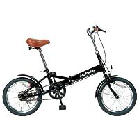 My Pallas(マイパラス) 折畳自転車16インチ カラー/ブラック M-101-BK