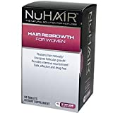 Hair Regrowth:Natrol Nuhair Regrowth Women Tablets Hf, 60-Count