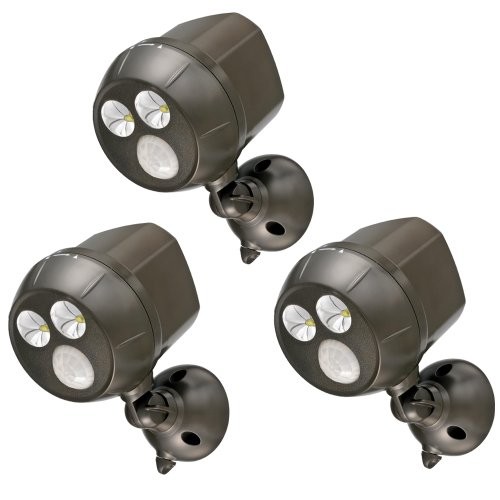 Mr Beams MB393 300 Lumen Battery Powered LED (Set of 3) - Brown