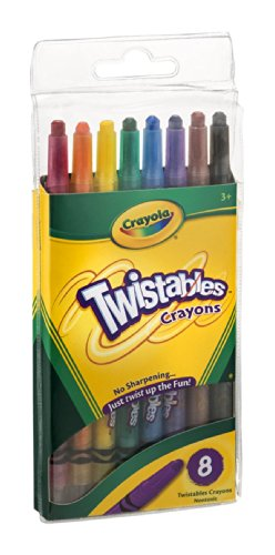 Crayola Twistables Crayons 8CT (Pack of 6)