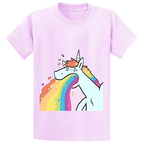 andy-rainbow-unicorn-cute-teen-crew-neck-cotton-t-shirts-pink