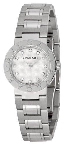 Bvlgari Women's BVLBB23WSS-12N White Dial Watch