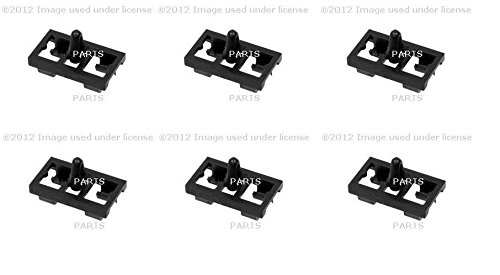 Set of 6 Door Seal Clip O.E.M. 51337008409 BMW E53 X5 2000-2006 (X5 Door Seal compare prices)