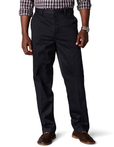 Dockers Men's Signature Khaki Big & Tall Flat Front Pant,Navy,48x32 (Big Men Casual Pants compare prices)