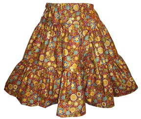 Girl's Empress Garden Tiered Twirly Skirt Size 12.5 Plus - (Child)