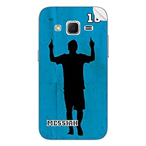 ezyPRNT Samsung Galaxy Core Prime Lionel Messi Football Player 3 back mobile skin sticker