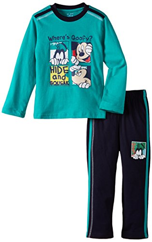Disney Disney Boy's Goofy Pyjama Set (Multicolor)