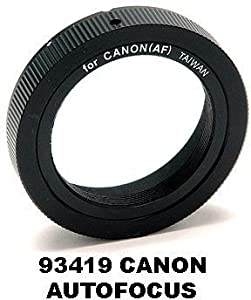 Celestron T-Rings For 35mm Cameras for Canon Auto Focus 35mm and Digital Cameras 93419