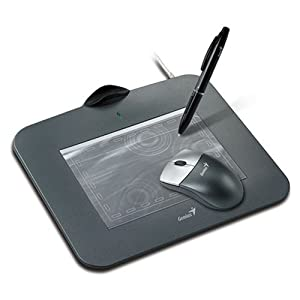 Genius G-Pen 4500 4-by-5.5-Inch Tablet with Mouse and Pen