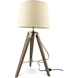 MOJO® Tischlampe Tripod Lampe Dreifuss Urban Cool Design mq-l36