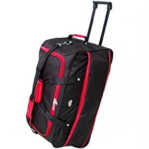 GAG Exclusive Large 27 Inch Wheeled Holdall (Black)