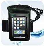 iPhone4 ギャラクシーS対応 スマートフォン用 防塵防水 IPX 8 ケース / 防水イヤホン・アームバンド付き LMB-008