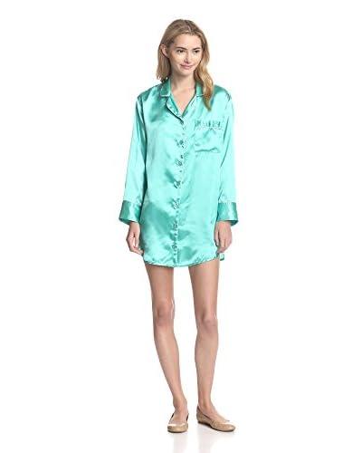 Bottoms Out Gal Women's Satin Long Sleeve Night Shirt