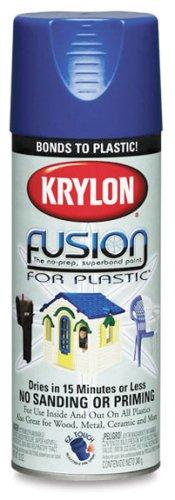 Krylon Fusion Spray Paint for Plastic (12 oz.) - Gloss White