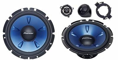 Pioneer TS-H 1703 16,5 cm 2-Wege-Kompo-System Auto-Lautsprecher 180 W schwarz/blau von Pioneer Electronics Deutschland GmbH bei Reifen Onlineshop