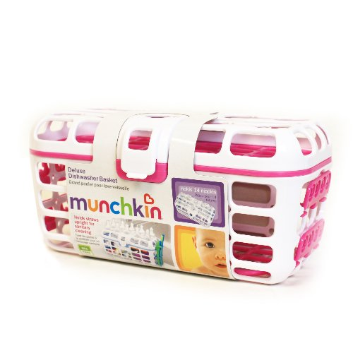 Munchkin, Deluxe Dishwasher Basket - 1 Ct, 2 Pack front-423400