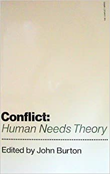 human needs theory of conflict pdf