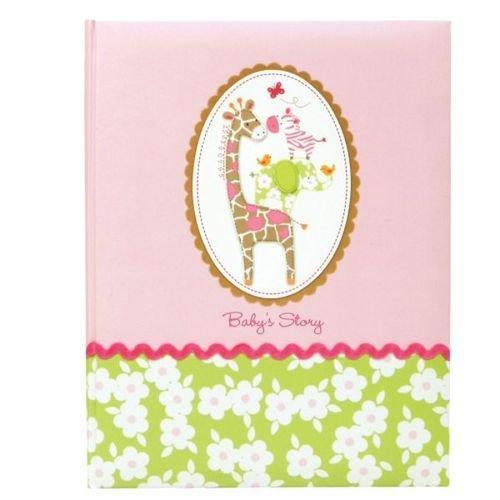 Carter's Girl First 5 Years Keepsake Baby Memory Book, Jungle