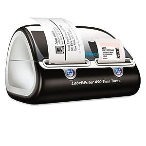 1752266 DYMO LABELWRITER 450 TWIN TURBO USB 71 LPM MAX 2.31 IN PC /MAC