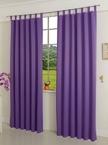 verdunklungsgardine blickdicht 2 st ck 245x140 hxb. Black Bedroom Furniture Sets. Home Design Ideas