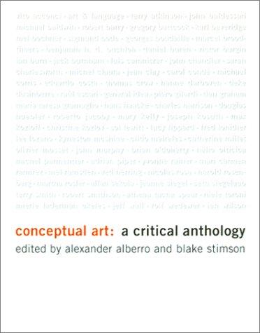 Conceptual writing anthology