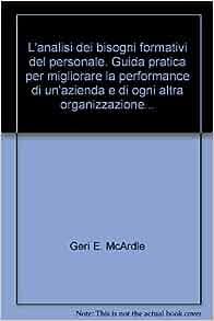 azienda e di ogni altra organizzazione: Geri E. McArdle