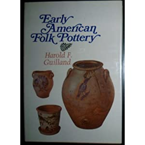 early american folk pottery