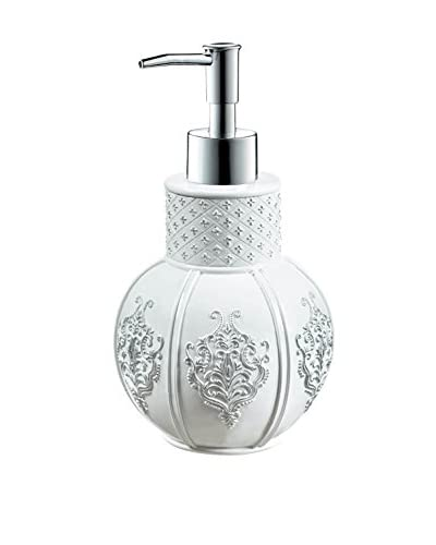 Creative Scents Vintage-Inspired Lotion Dispenser, White