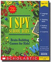 I SPY School Days (Jewel Case)