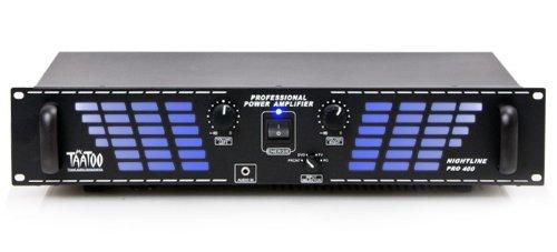 1200 watts Pa-amplifier Nightline per 400 bl