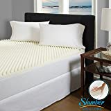 Slumber Solutions Highloft Supreme 3-inch Memory Foam Mattress Topper - Queen Size