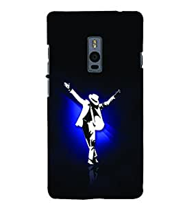Man Dancing in White Suit and Hat 3D Hard Polycarbonate Designer Back Case Cover for OnePlus 2 :: OnePlus Two