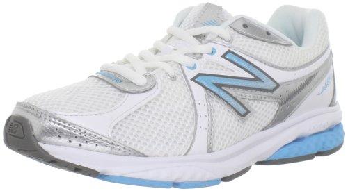 New Balance Women'S Ww665Wb Fitness Walking Shoe,White/Blue,9 B Us front-933894