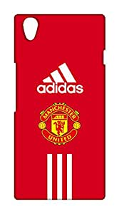 OnePlus X Manchester United Football Club Design Back Cover - Printed Designer Cover - Hard Case - OPXCMBMUFC0163