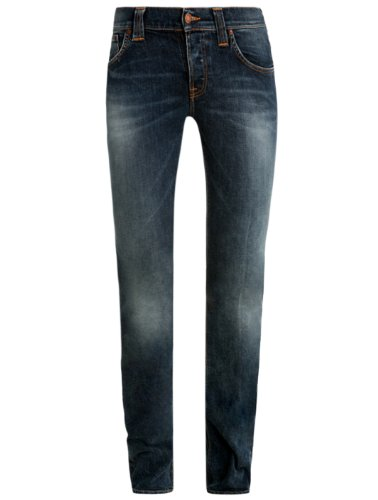 Jeans Grim Tim org salt & pepper Nudie W27 L34 Men's