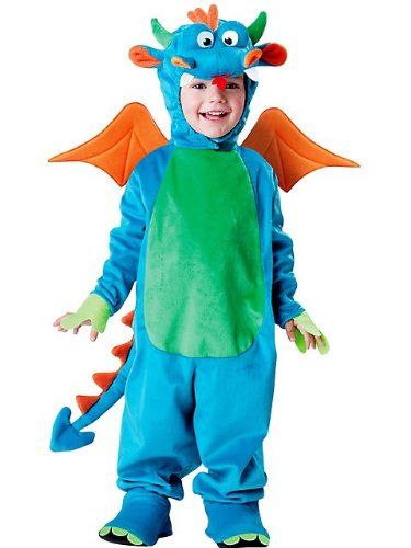 InCharacter Blue Dinky Dragon Baby Costume