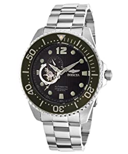 Invicta Men's 15390 Pro Diver Analog Display Japanese Automatic Silver Watch