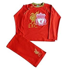 Official Liverpool FC Long Pyjamas 11-12 Years aw10 by ThePyjamaFactory