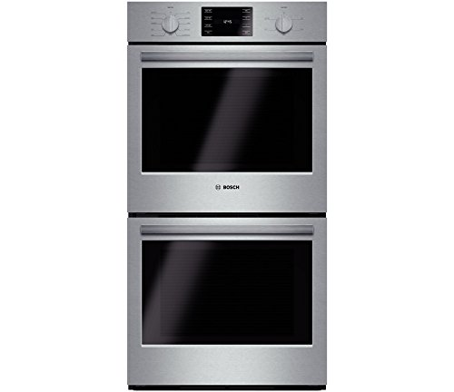 "Bosch Hbn5651Uc 500 27"" Stainless Steel Electric Double Wall Oven - Convection"