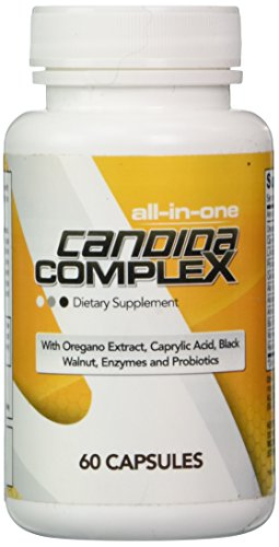 Candida Cleanse Complex ★ All-in-One Yeast Infection Treatment Support / Fungal Overgrowth Defence Formula with Antifungals, Probiotics and Enzymes ★ 100% Premium Hassle-Free Money Back Guarantee!