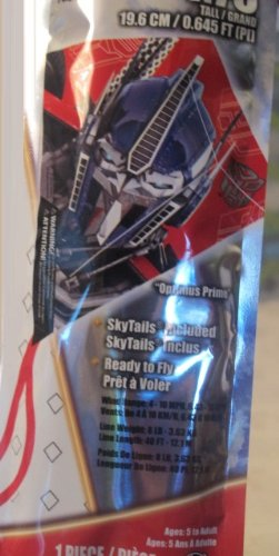 "Transformer Optimus Prime 7.75"" Mini Poly Diamond Kite - 1"