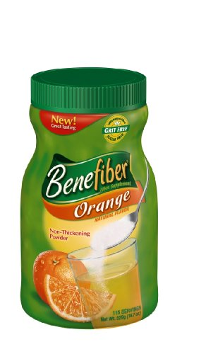 Benefiber Orange, 115-servings, Net Wt. 18.7-Ounce Bottle