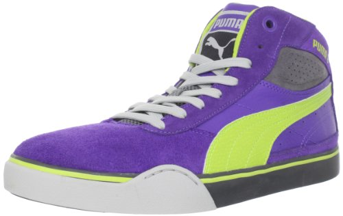 Puma Men's Maeko XL Sneaker,Team Violet/Lime Punch,10 D US